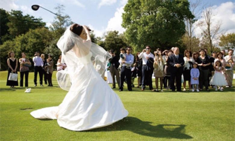 ゴルフ場結婚式のプロデュース