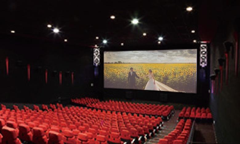 映画館での結婚式のプロデュース